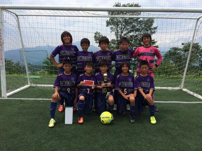 『TORAJI CUP 2014summer U-12/U-11 』大会結果