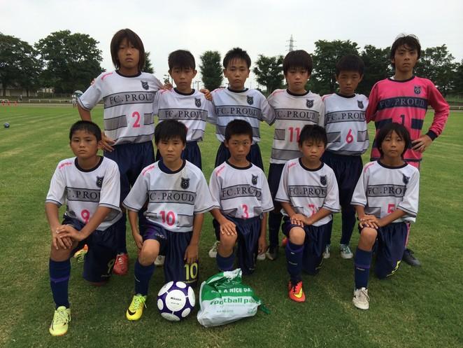 『SORRISO ジュニアサッカー大会 U-12』大会結果