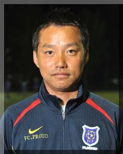 FCプラウド ヘッドコーチ 山田セチャン 写真